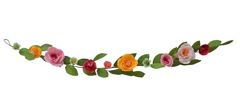 flower garland for spring
